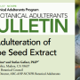 Learn about Polyphenolics' involvement in the latest BAP Bulletin on Adulteration of GSE